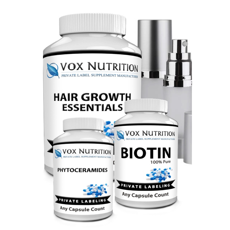 Private Label Hair & Beauty Supplements
