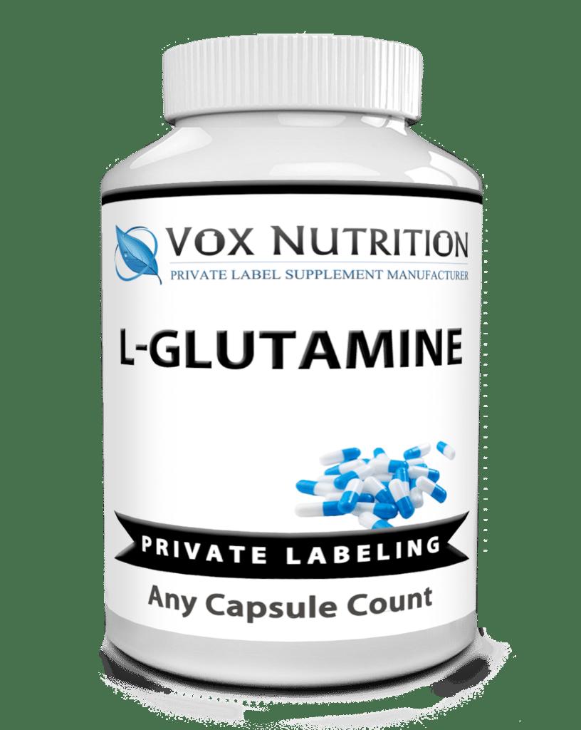 private label glutamine sports nutirtion vitamin supplement
