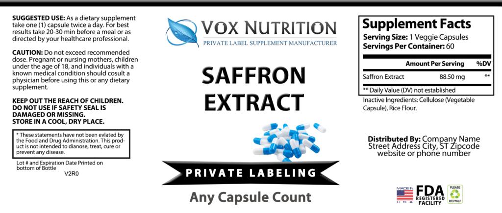 Saffron Extract Bulk
