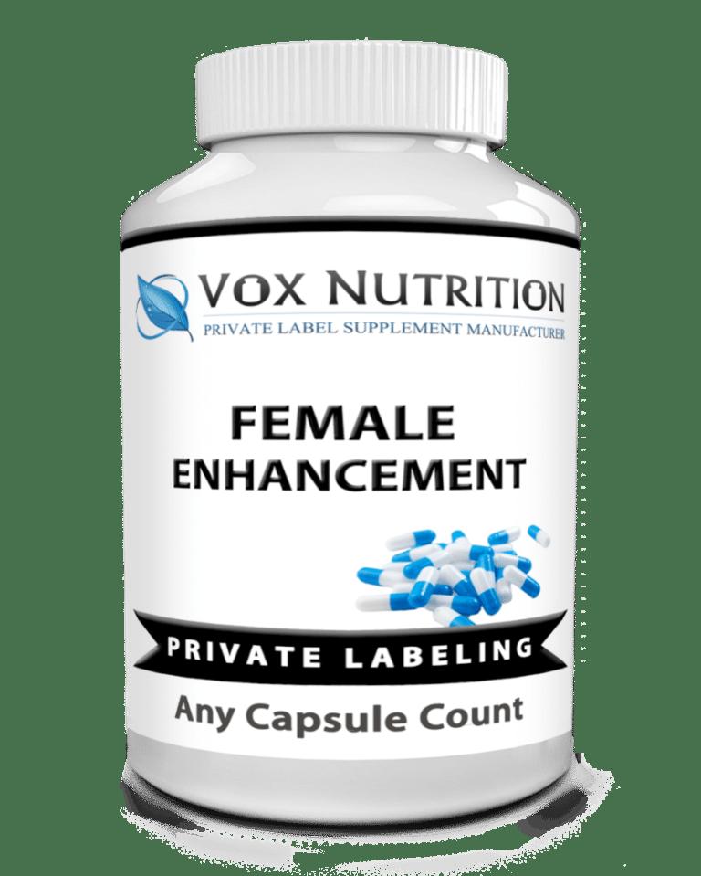 private label female enhancement vitamin supplement