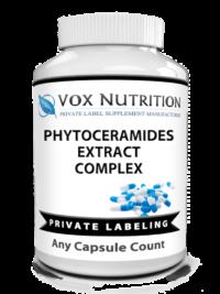 private label phytoceramides anti aging vitamin supplement