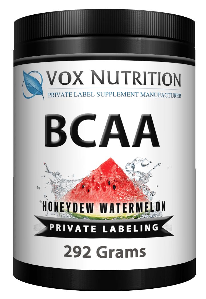 private label BCAA post workout sports nutrition supplement