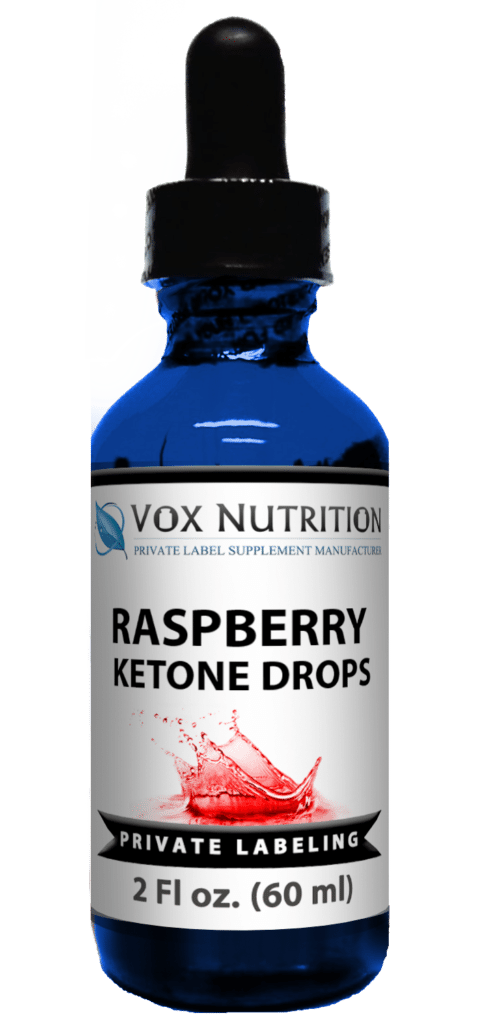 private label raspberry ketones weight loss supplement drops