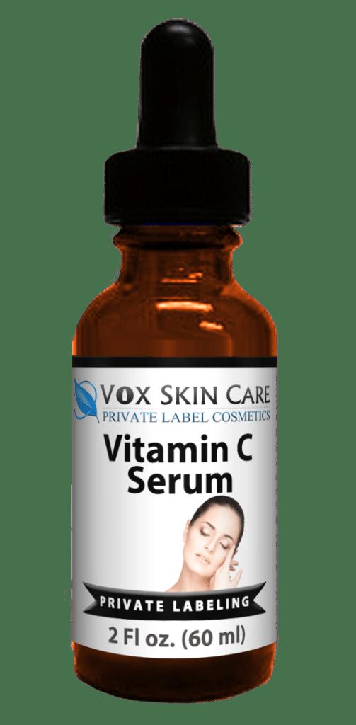 private label vitamin c Serum 2 oz skin care product