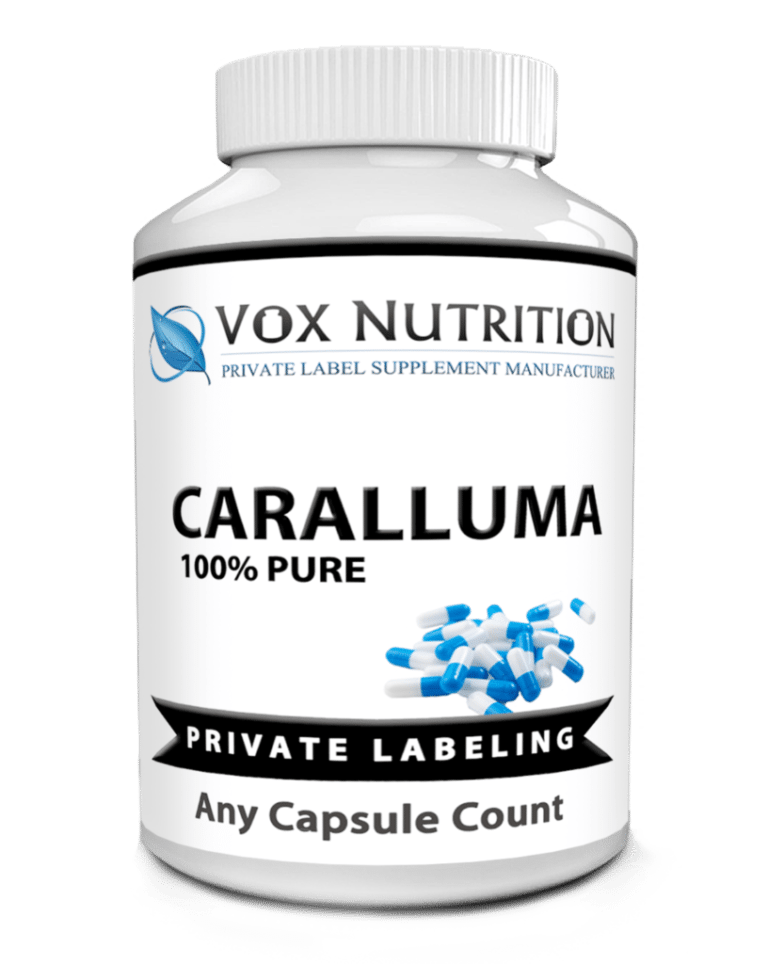 private label caralluma weight loss supplement