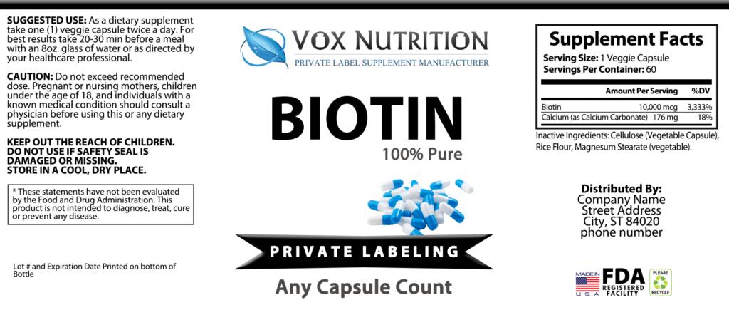 Wholesale Private Label & bulk Supplements