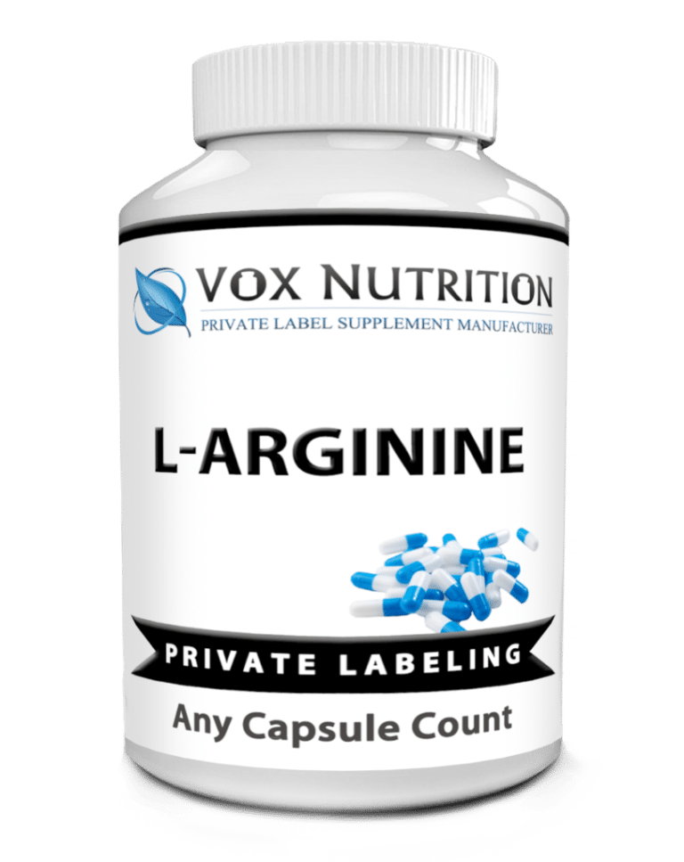 private label l-arginine sports nutrition vitamin supplement