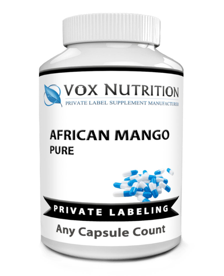 private label african mango pure weight loss supplement