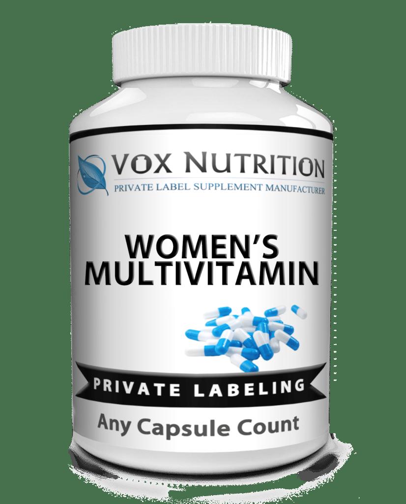 private label womens multivitamin vitamin supplement