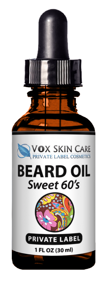 private label beard oil product vox nutrition