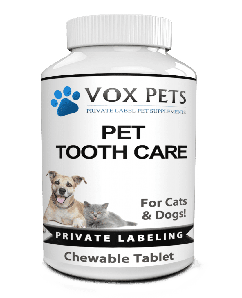 private label pet tooth care pet supplement