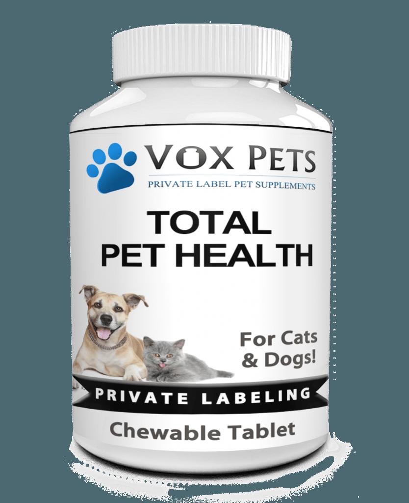 private label total pet health pet supplement