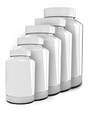 private label supplement bottle sizes