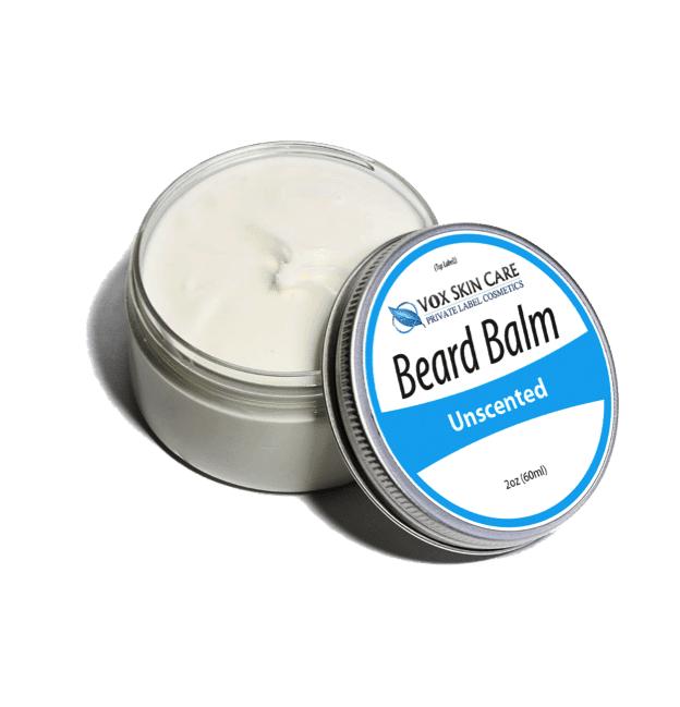 private label beard balm beard care product