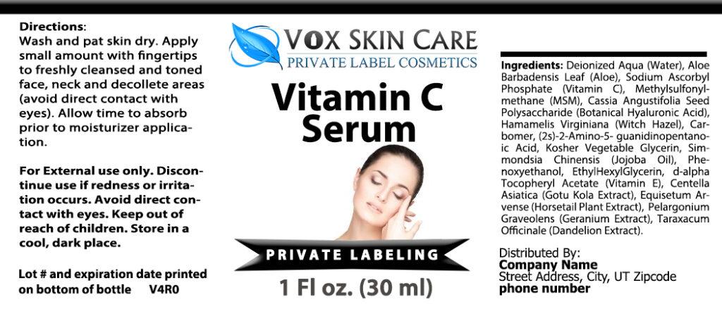 private label vitamin c serum 1oz vitamin supplement
