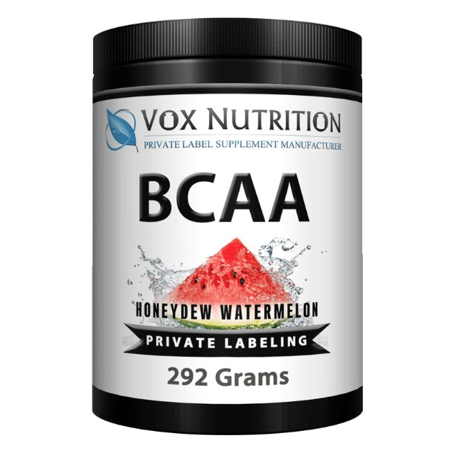 private label bcaa post workout supplement powder