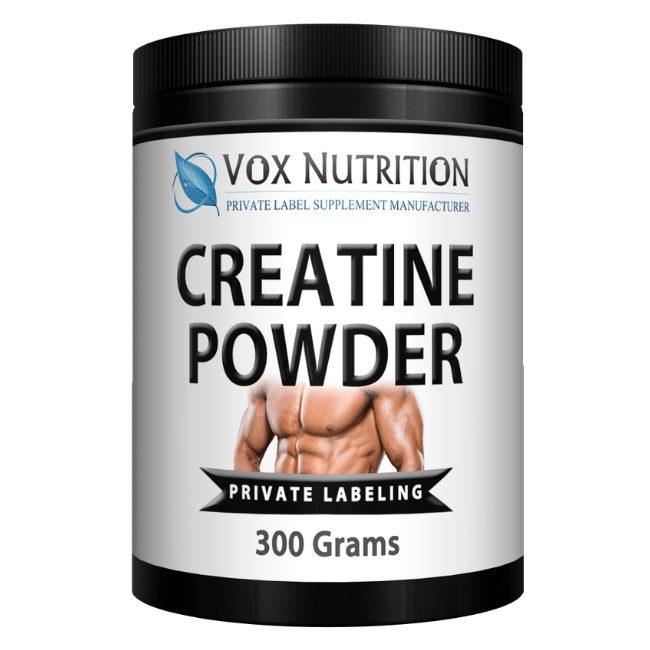 private label creatine powder supplement