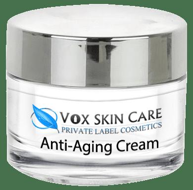 private label anti-aging cream