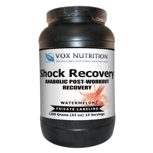 post workout shock recovery protein powder