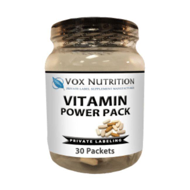 private label vitamin power pack