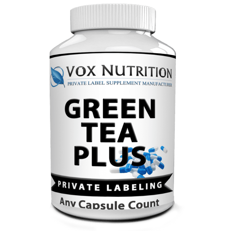 private label green tea plus weight loss supplement