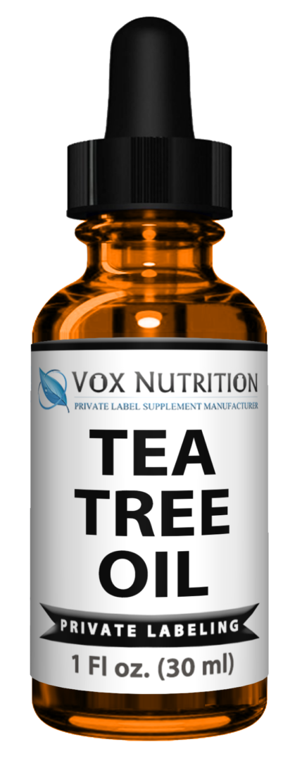 Private Label tea tree oil skin care supplement