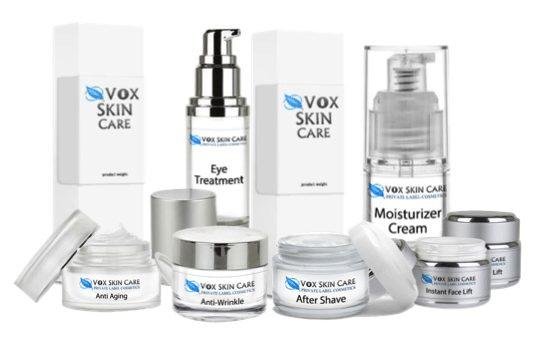 private label skin care bottle options