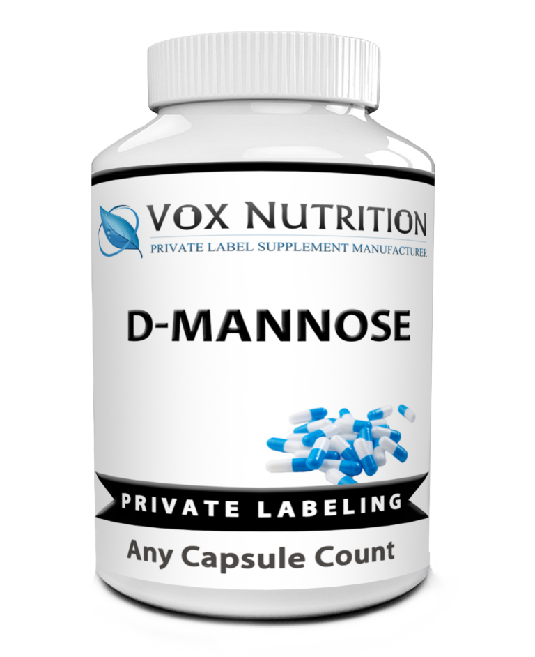 private label d mannose vitamin supplement
