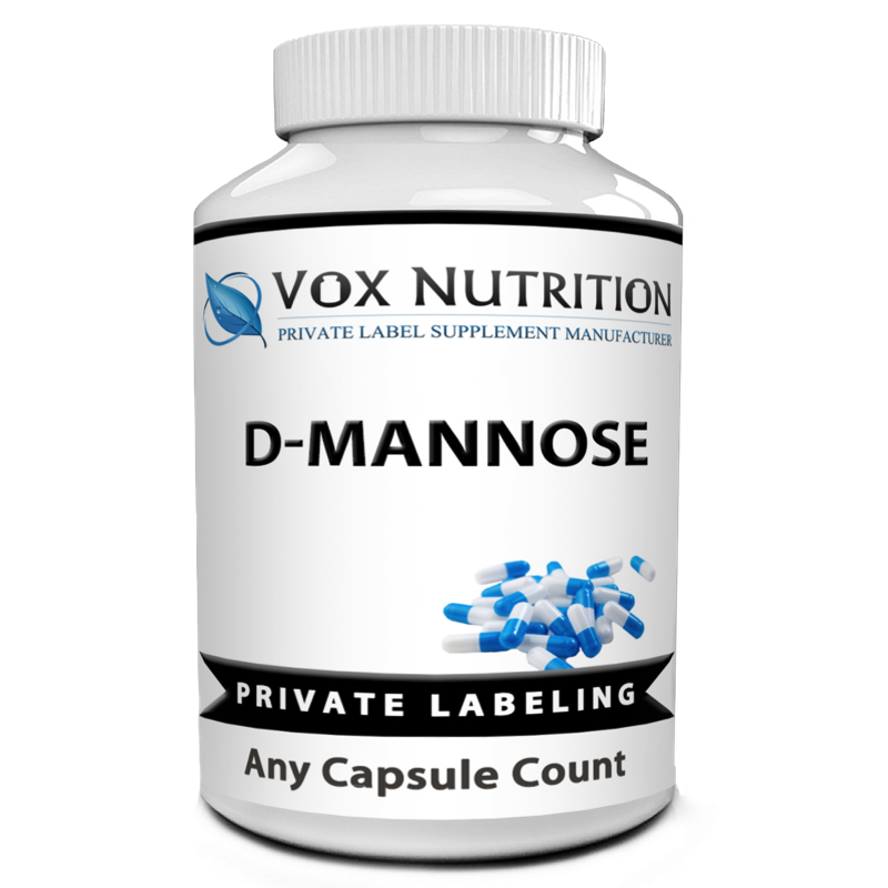 private label D-Mannose Vitamin Supplement