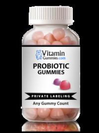 private label probiotic vitamin gummy supplement