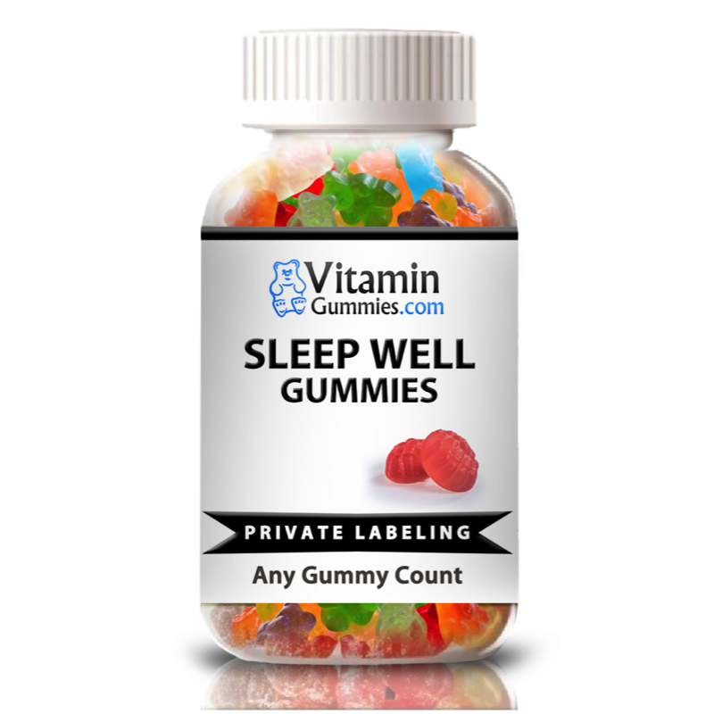 Private Label Sleep Well Vitamin Gummy Supplement | Vox Nutrition