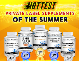 Private Label Nutrition Supplement Manufacturer | Vox Nutrition