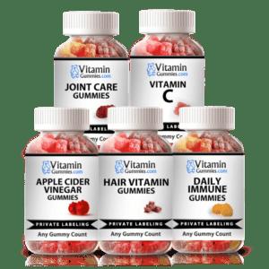 private label vitamin gummies